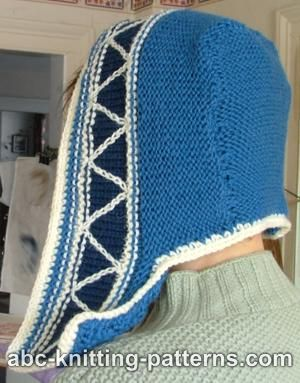 Earflap Knit Hat