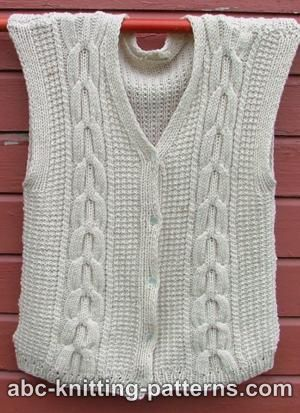 Tunic Cable Turtleneck Sweater Knitting Pattern | FaveCrafts.com