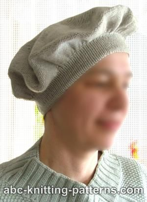 Abc Knitting Patterns Elegant Knit Beret