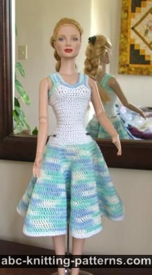 Doll Dress Crochet - Cheap Frills Jewellery | 396x220