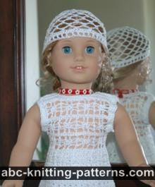 American Girl Doll Lace Top