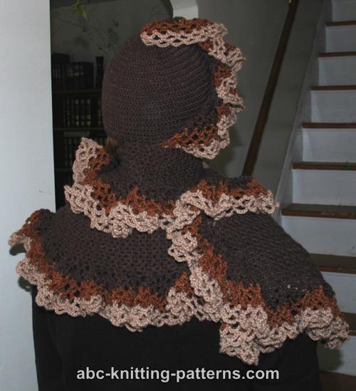 ABC Knitting Patterns - Ruffled Stole
