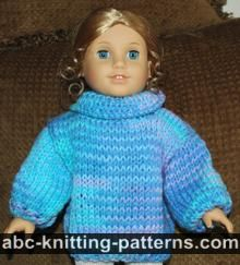 American Girl Doll Basic Sweater