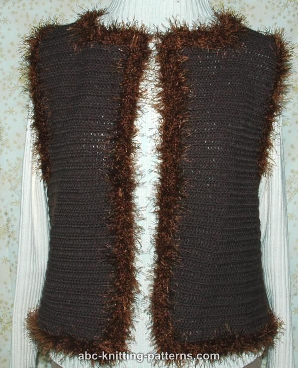 Free Crochet Pattern - Fancy Fur Twisty Scarf from the Scarves