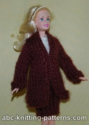 Free Barbie Knitting Patterns : Barbie Doll Clothes