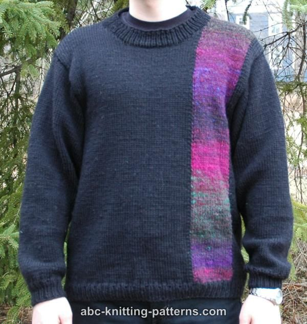 79e250eaa0bebc ABC Knitting Patterns - Elegant Noro Yarn Sweater for Men