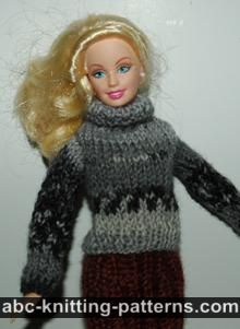 Barbie Turtleneck Sweater