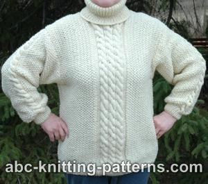 ARAN SWEATER KNITTING PATTERNS « FREE KNITTING PATTERNS