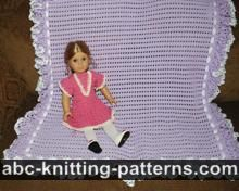 Abc Knitting Patterns Lace Ripple Afghan : ABC Knitting Patterns - Ripple Afghan