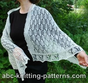 Rectangle Lace Shawl