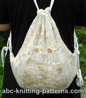 Difficult Knitting Patterns : KNITTED BACKPACK PATTERN FREE 1000 Free Patterns
