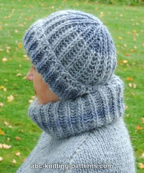 ABC Knitting Patterns - Fisherman\'s Rib Stay-Warm Hat
