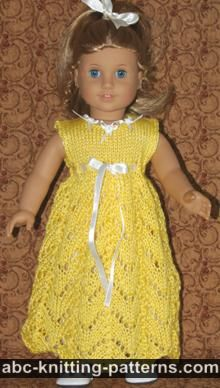 ABC Knitting Patterns. Knit/Doll Clothes