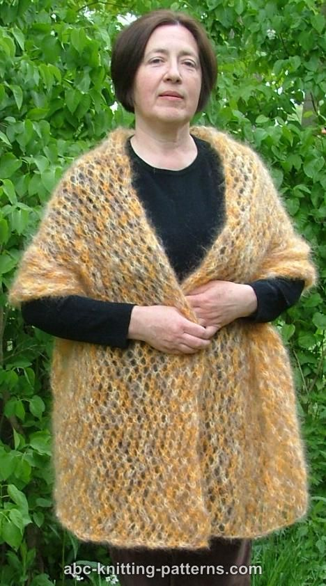 Knitting Patterns For Mohair Scarves : Mohair Scarf Patterns Patterns Gallery