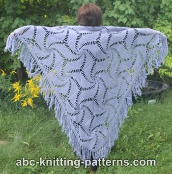Hexagonal Motif Shawl