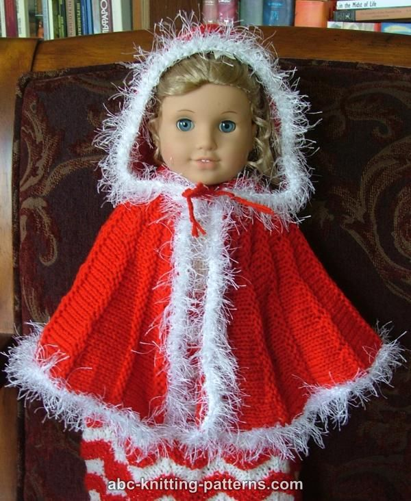 Free Knitting Patterns For 18 Dolls : Free Doll Cape Pattern Search Results Calendar 2015