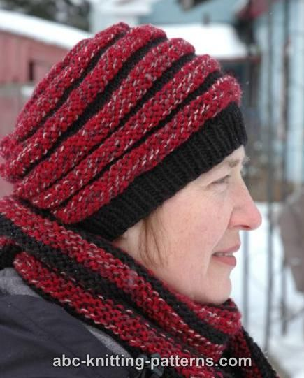 Abc Knitting Patterns Pipe Dream Hat
