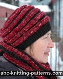Abc Knitting Patterns : ABC Knitting Patterns - Easy Garter Stitch Hat