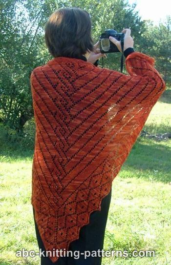 Abc Knitting Patterns Greek Revival Shawl