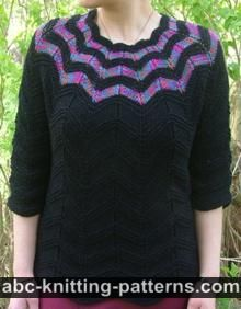 e59ee3ae1 ABC Knitting Patterns - Knit    Sweaters and Tops  47 Free Patterns
