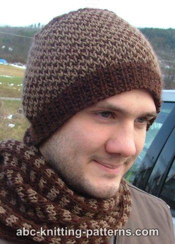 Abc Knitting Patterns Diamond Pattern Hat