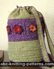 Woodland Meadow Crochet Backpack