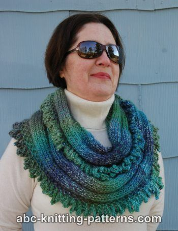 Gypsy Cowl with Bead Ruffle