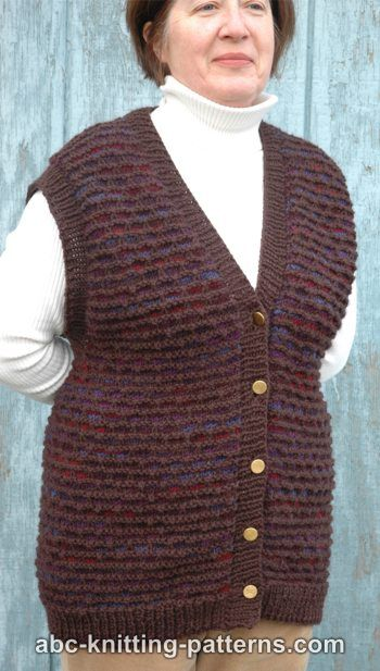 Two-Tone Seamless Vest