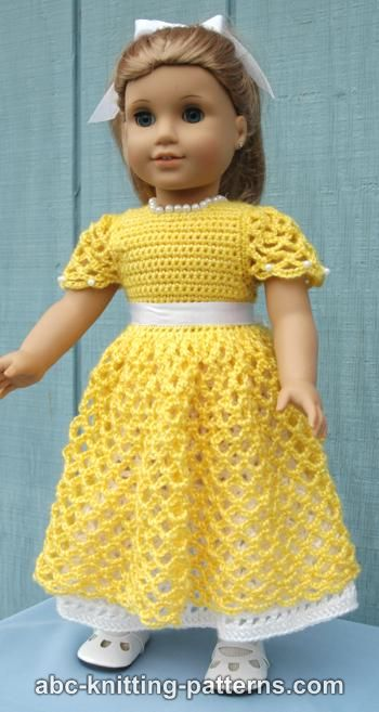American Girl Doll Princess Dress