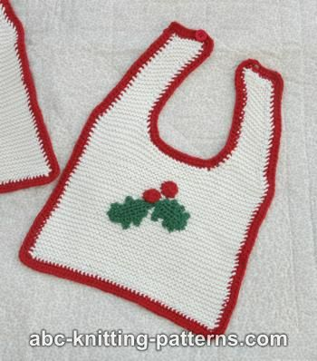 Free Feather And Fan Baby Bib Knitting Pattern