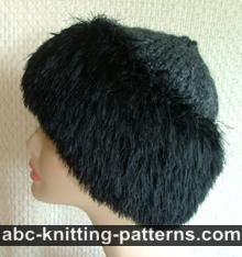 Faux Fur Trim Hat