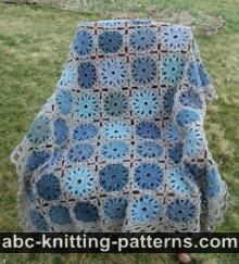 Abc Knitting Patterns Lace Ripple Afghan : ABC Knitting Patterns - Crochet >> Afghans: 9 Free Patterns