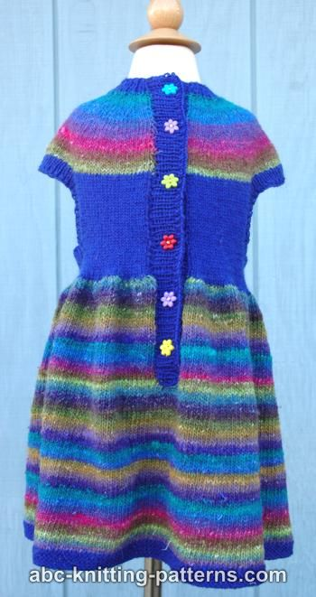 Girl's Round Yoke Dress
