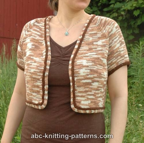 Crop Top Knitting Pattern Free : Abc knitting patterns french riviera cropped summer