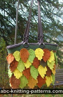 Fall Leaves Handbag