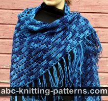 Midnight Elegance Shawl
