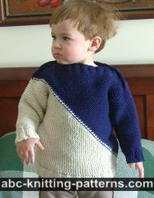 Child's Color Block Sweater