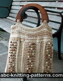 Birds and Beads Summer Tote