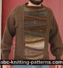 The Cubist Short Row Seamless Men's Sweater