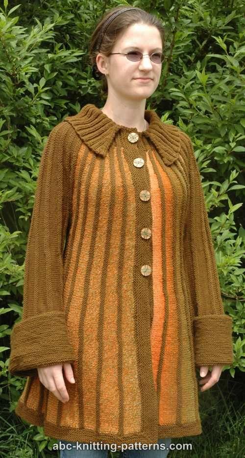 Knitted Jacket Patterns : ABC Knitting Patterns - Autumn in Paris Jacket
