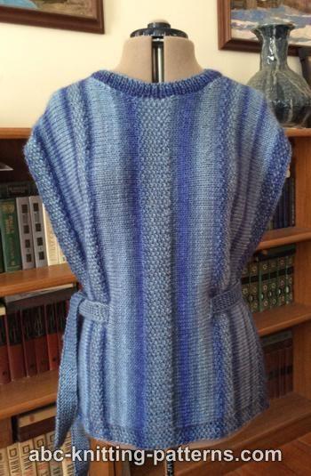 Abc Knitting Patterns Renaissance Woman Side Slit Tunic