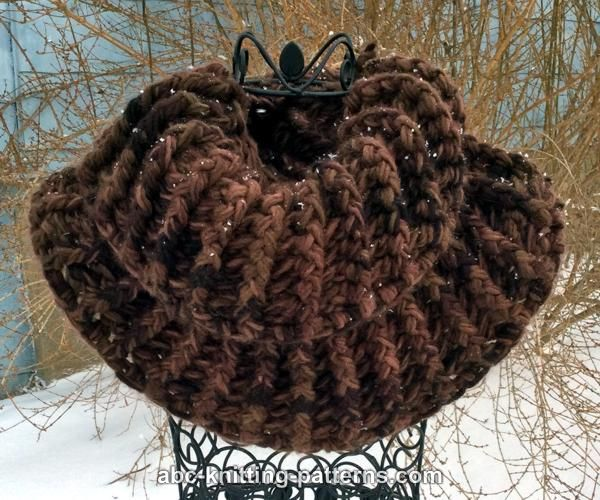 Knitting Pattern Outlander Cowl : ABC Knitting Patterns - Outlander Claire Cowl (Crochet)