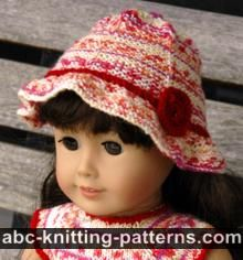 American Girl Doll Carolina Summer Hat