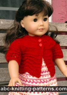 American Girl Doll Hamptons Summer Cardigan