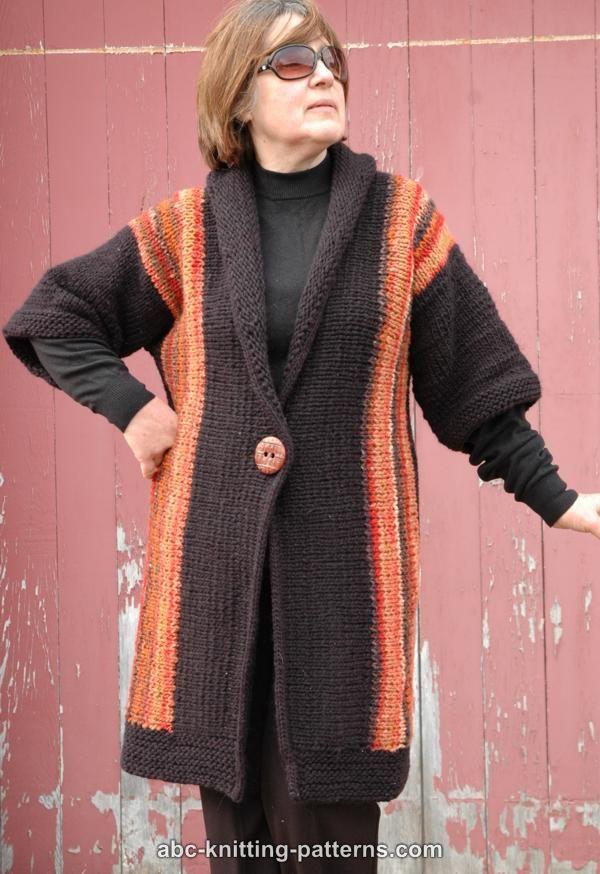 Abc Knitting Patterns New England Springtime Jacket With Shawl