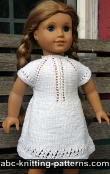 American Girl Doll Midsummer Dress