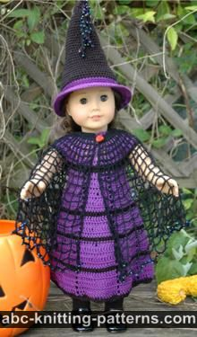 American Girl Doll Witch's Cloak