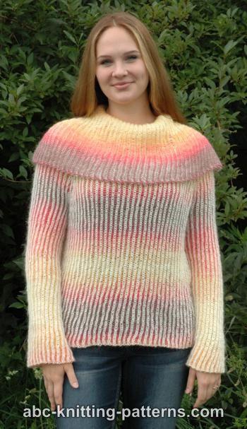 Reversible Brioche Sweater