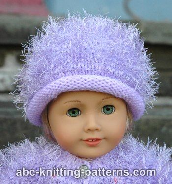 American Girl Doll Fur Hat