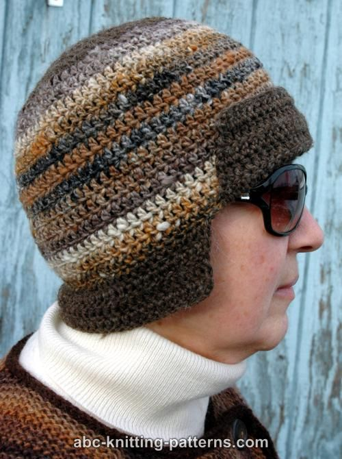 Abc Knitting Patterns Mini Bomber Hat